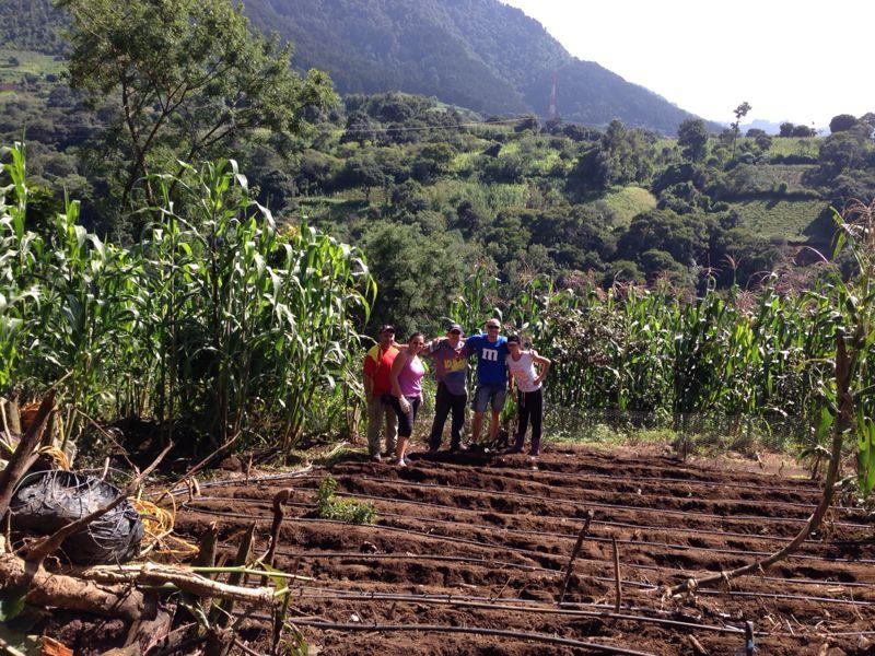 """Los voluntarios de Wrigley colaboran en la creacion de un huerto en el """"Proyecto de Niños Huérfanos"""""""