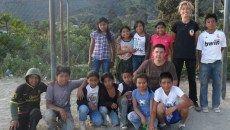 Carmen y Pedro, voluntarios en Guatemala