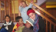 Rosa Valencia, voluntaria en Cuzco