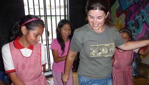 Irene Martínez, voluntaria en Guatemala