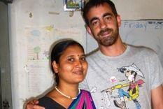 CARLOS LLOPIS EN LA INDIA p