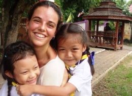 Martina, voluntariado Tailandia