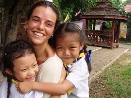 Martina, voluntariado en Tailandia