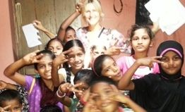 Voluntariado en india goa
