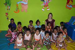 Sri Lanka voluntariado con niños