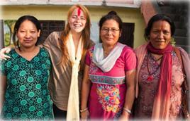 Sri Lanka voluntariado mujer
