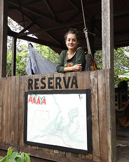 Voluntariado en la selva amazónica