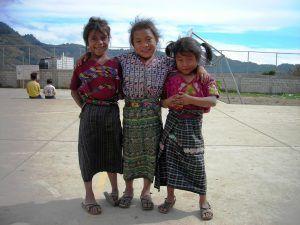 Cuidado de niños en Guatemala
