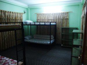 habitación alojamiento katmandú