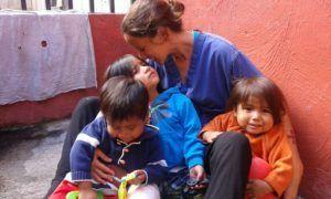 Voluntariado niños antigua
