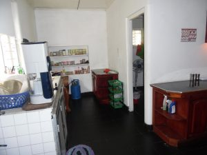 Cocina casa voluntarios