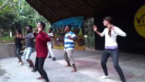 Danza en arusha