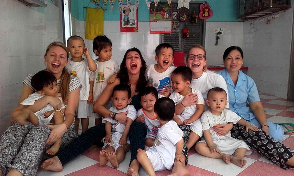 Voluntariado en una escuela de educación infantil Vietnam