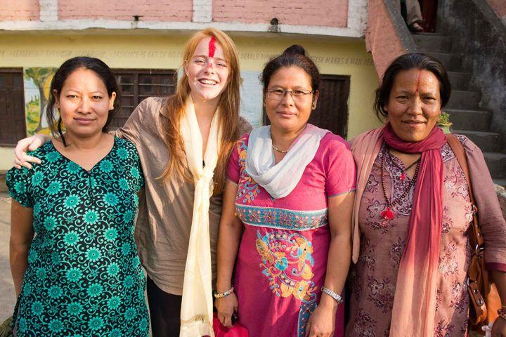 Voluntariado de empoderamiento de la mujer en Katmandú