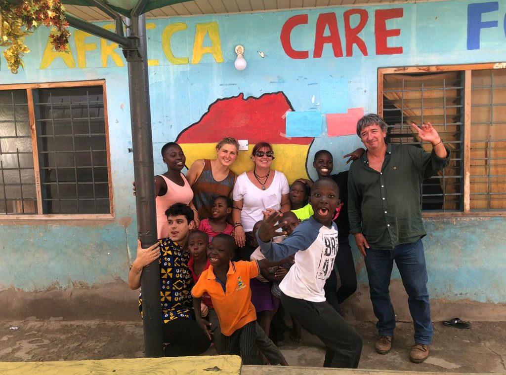 Voluntarios en Ghana